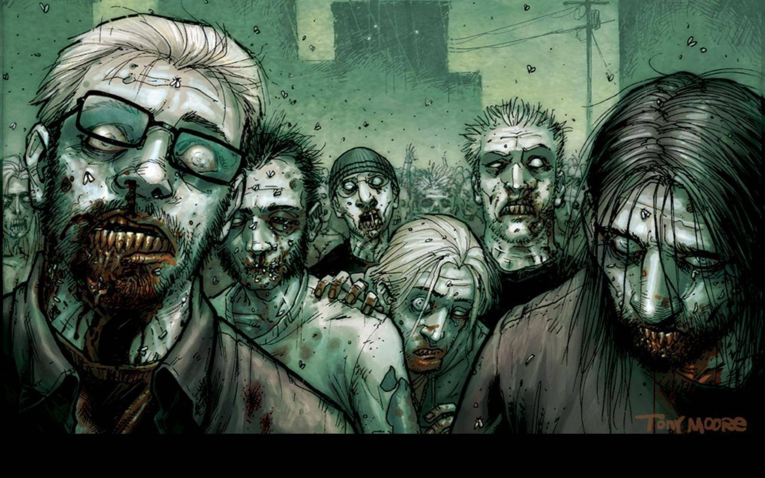 One Amazing Zombie Desktop Wallpaper for YouZombies Wallpaper